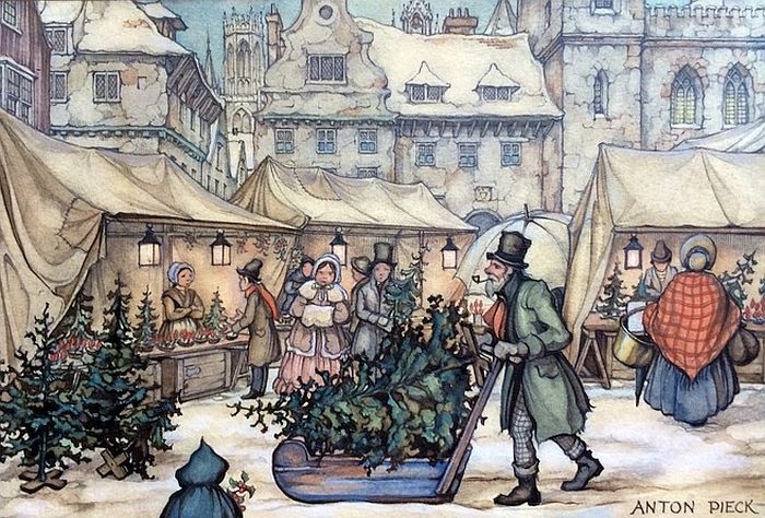 The Fairy Tale Winters Of Anton Pieck Amsterdamming